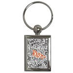 Paramore Is An American Rock Band Key Chains (Rectangle)  Front