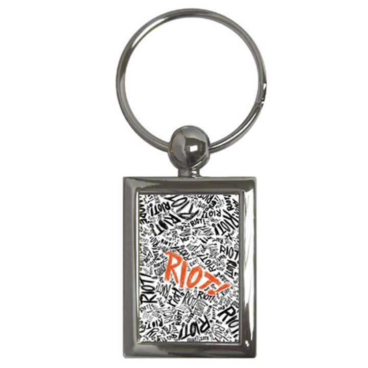 Paramore Is An American Rock Band Key Chains (Rectangle)