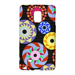 Colorful Retro Circular Pattern Galaxy Note Edge