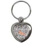 Paramore Is An American Rock Band Key Chains (Heart)  Front