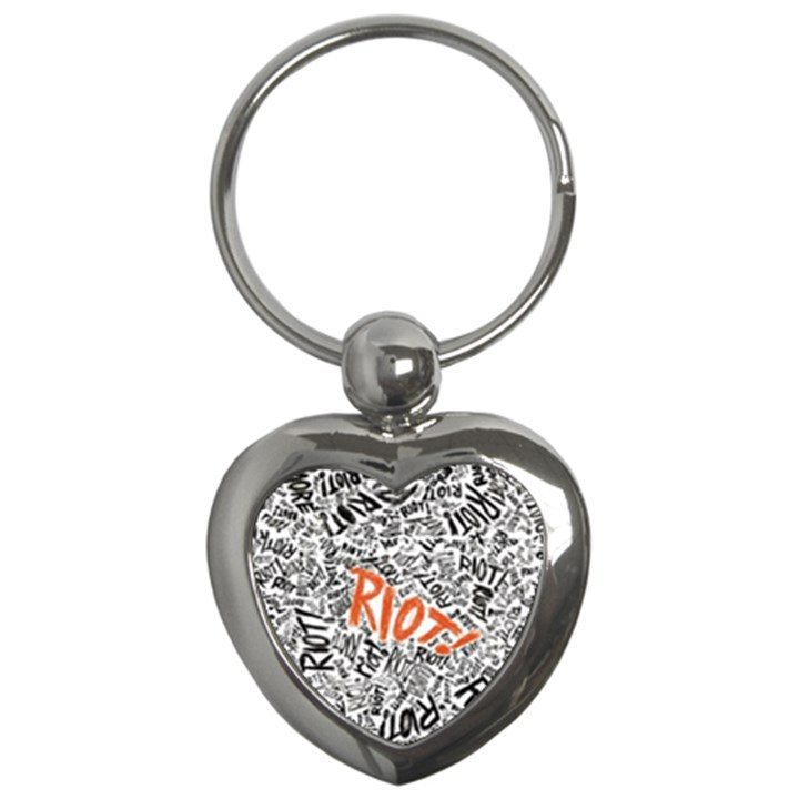 Paramore Is An American Rock Band Key Chains (Heart)