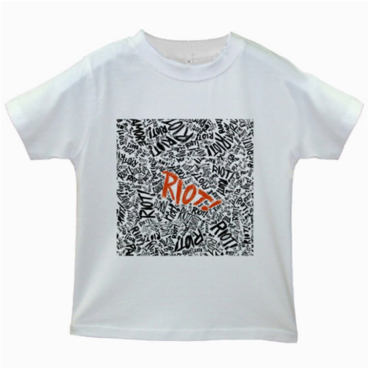 Paramore Is An American Rock Band Kids White T-Shirts
