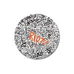 Paramore Is An American Rock Band Magnet 3  (Round) Front