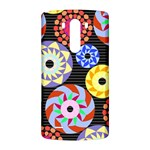 Colorful Retro Circular Pattern LG G3 Back Case Front