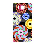 Colorful Retro Circular Pattern Samsung Galaxy Alpha Hardshell Back Case Front