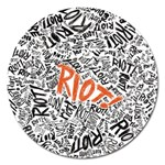 Paramore Is An American Rock Band Magnet 5  (Round) Front