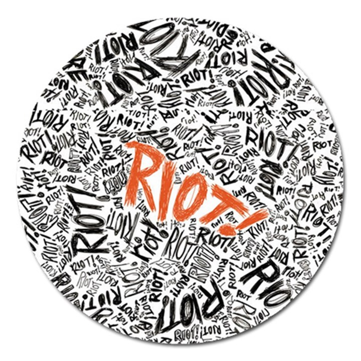 Paramore Is An American Rock Band Magnet 5  (Round)
