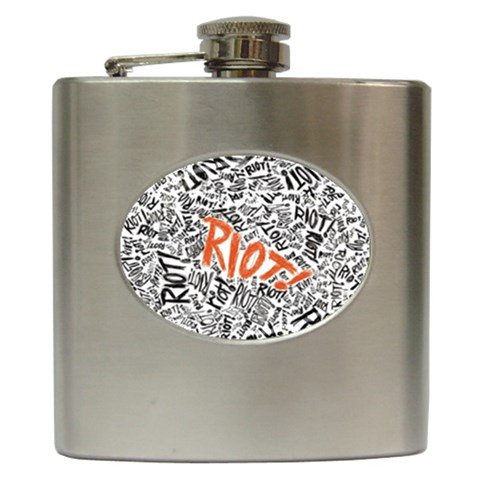 Paramore Is An American Rock Band Hip Flask (6 oz)