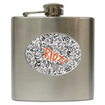 Paramore Is An American Rock Band Hip Flask (6 oz) Front