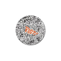 Paramore Is An American Rock Band Golf Ball Marker (4 pack)