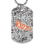 Paramore Is An American Rock Band Dog Tag (Two Sides) Back