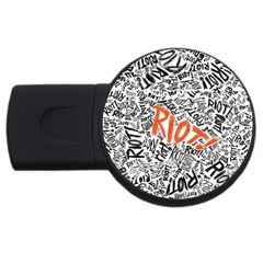 Paramore Is An American Rock Band Usb Flash Drive Round (2 Gb)
