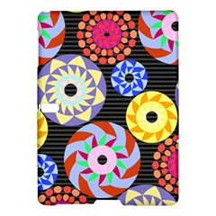 Colorful Retro Circular Pattern Samsung Galaxy Tab S (10 5 ) Hardshell Case
