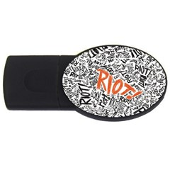 Paramore Is An American Rock Band USB Flash Drive Oval (2 GB)