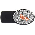 Paramore Is An American Rock Band USB Flash Drive Oval (2 GB)  Front