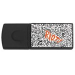Paramore Is An American Rock Band USB Flash Drive Rectangular (2 GB)  Front