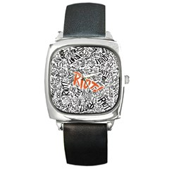 Paramore Is An American Rock Band Square Metal Watch