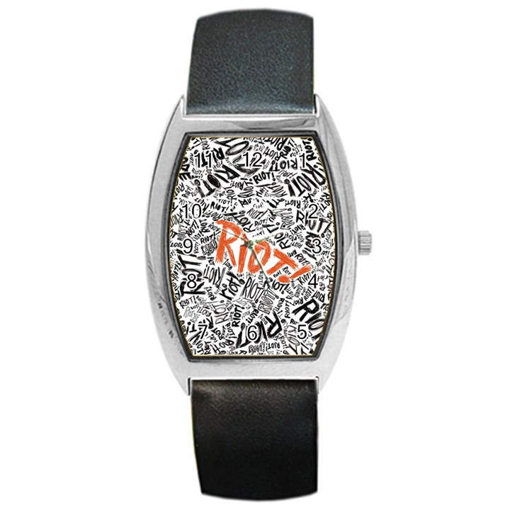 Paramore Is An American Rock Band Barrel Style Metal Watch