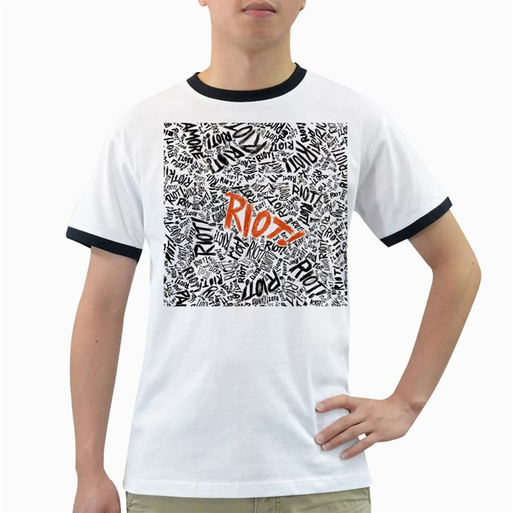 Paramore Is An American Rock Band Ringer T-Shirts