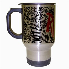 Paramore Is An American Rock Band Travel Mug (Silver Gray)