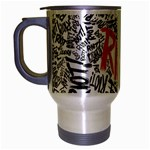 Paramore Is An American Rock Band Travel Mug (Silver Gray) Left