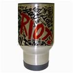 Paramore Is An American Rock Band Travel Mug (Silver Gray) Center