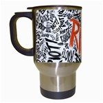 Paramore Is An American Rock Band Travel Mugs (White) Left