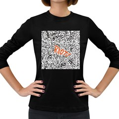 Paramore Is An American Rock Band Women s Long Sleeve Dark T-Shirts