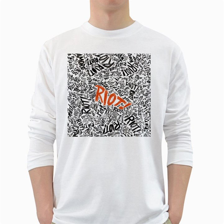 Paramore Is An American Rock Band White Long Sleeve T-Shirts