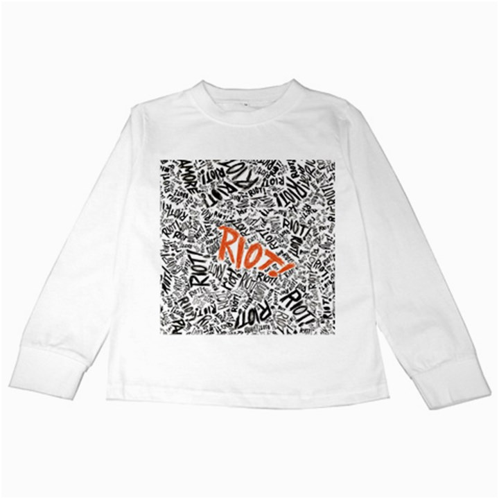 Paramore Is An American Rock Band Kids Long Sleeve T-Shirts
