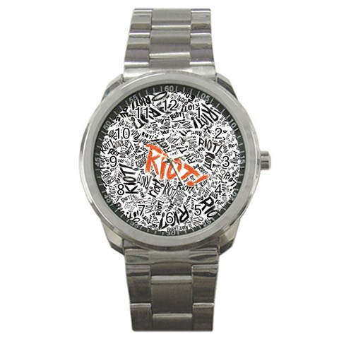 Paramore Is An American Rock Band Sport Metal Watch