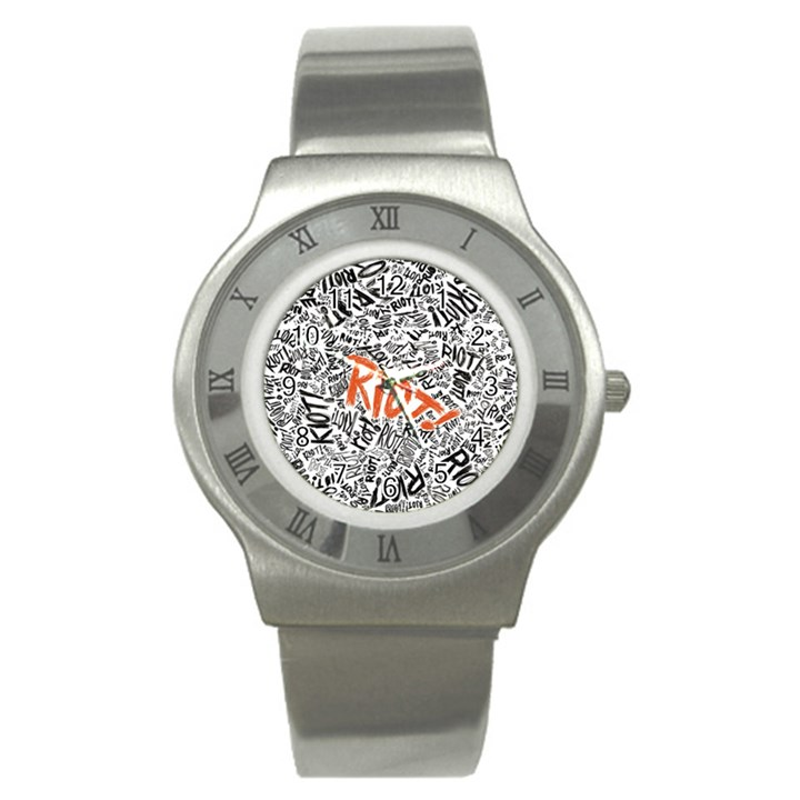 Paramore Is An American Rock Band Stainless Steel Watch