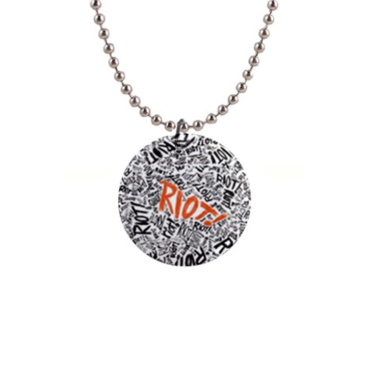 Paramore Is An American Rock Band Button Necklaces