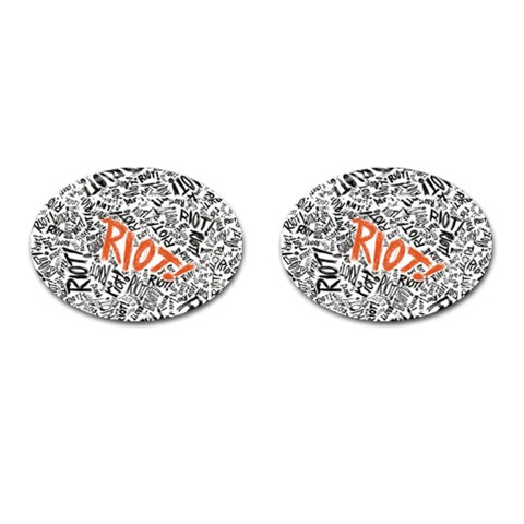 Paramore Is An American Rock Band Cufflinks (Oval)