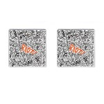 Paramore Is An American Rock Band Cufflinks (Square) Front