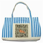 Paramore Is An American Rock Band Striped Blue Tote Bag Front