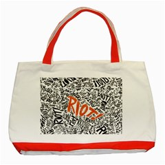 Paramore Is An American Rock Band Classic Tote Bag (Red)