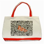 Paramore Is An American Rock Band Classic Tote Bag (Red) Front