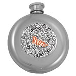 Paramore Is An American Rock Band Round Hip Flask (5 oz) Front