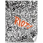 Paramore Is An American Rock Band Canvas 12  x 16   16 x12 Canvas - 1