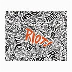 Paramore Is An American Rock Band Small Glasses Cloth (2-Side) Back