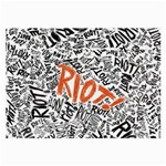 Paramore Is An American Rock Band Large Glasses Cloth (2-Side) Front