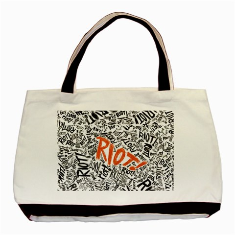 Paramore Is An American Rock Band Basic Tote Bag (Two Sides)