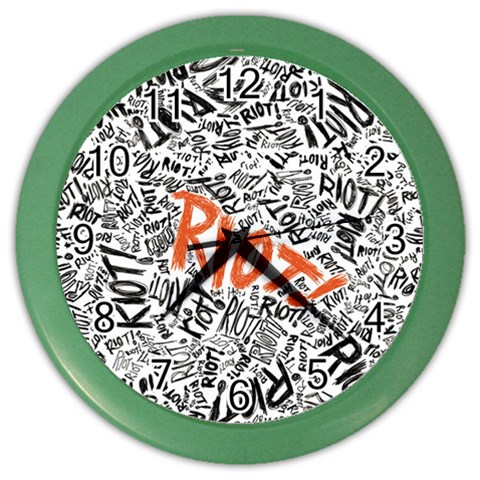 Paramore Is An American Rock Band Color Wall Clocks