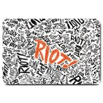 Paramore Is An American Rock Band Large Doormat  30 x20 Door Mat - 1