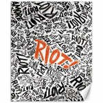 Paramore Is An American Rock Band Canvas 11  x 14   14 x11 Canvas - 1