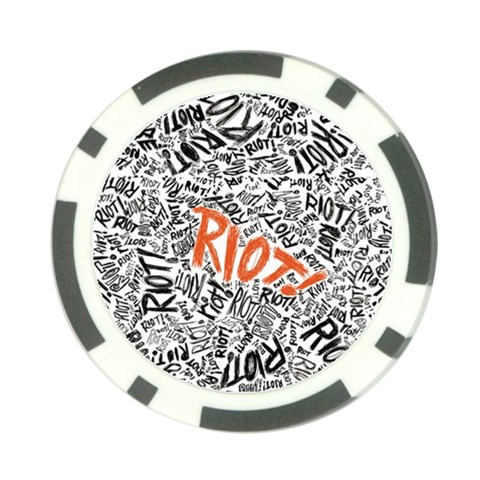 Paramore Is An American Rock Band Poker Chip Card Guards