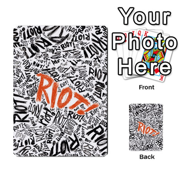Paramore Is An American Rock Band Multi-purpose Cards (Rectangle)