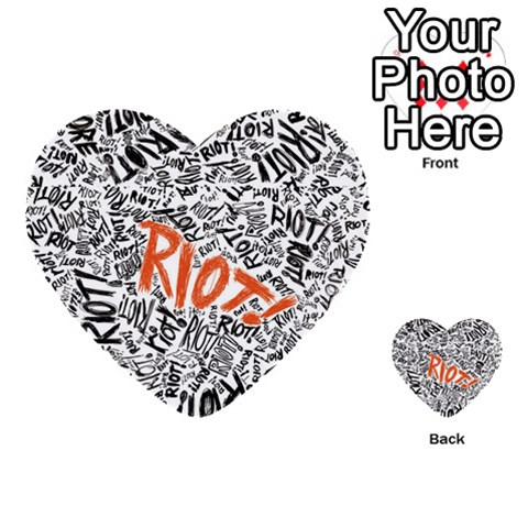 Paramore Is An American Rock Band Multi-purpose Cards (Heart)