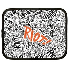 Paramore Is An American Rock Band Netbook Case (large)